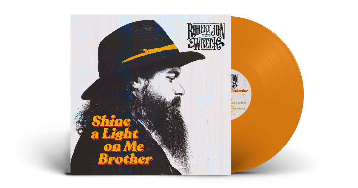 Robert John and the Wreck Shine a light on me brother LP